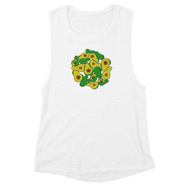 Avocado Lover Women's Muscle Tank by Tejedor shop