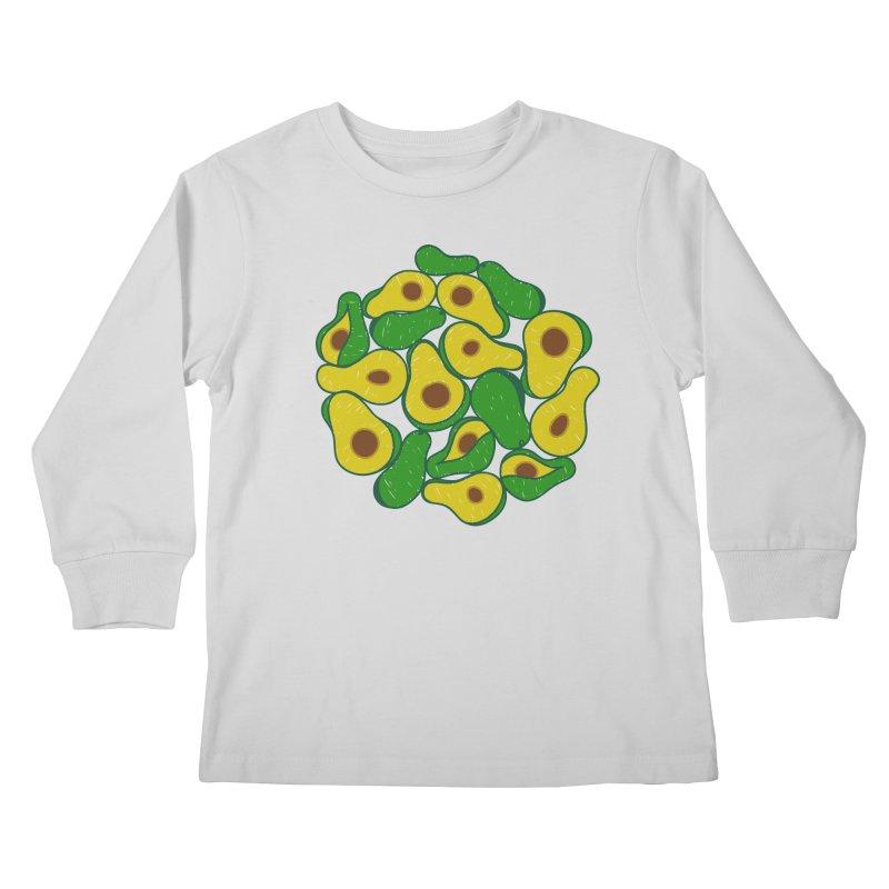 Avocado Lover Kids Longsleeve T-Shirt by Tejedor shop