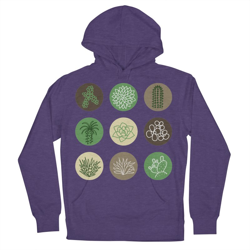 Succulents 1 Men's Pullover Hoody by Tejedor shop