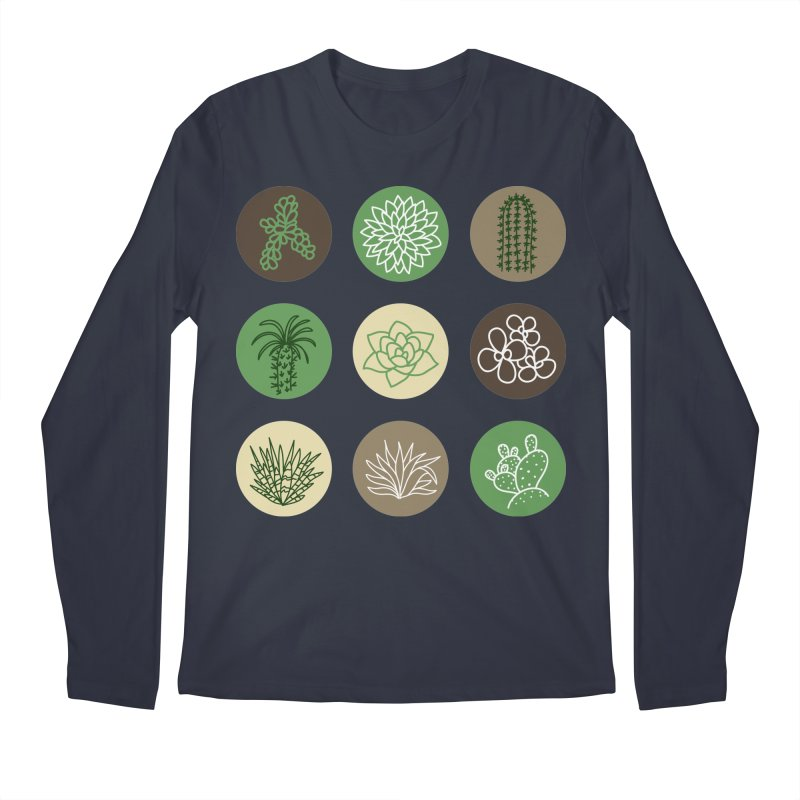 Succulents 1 Men's Longsleeve T-Shirt by Tejedor shop