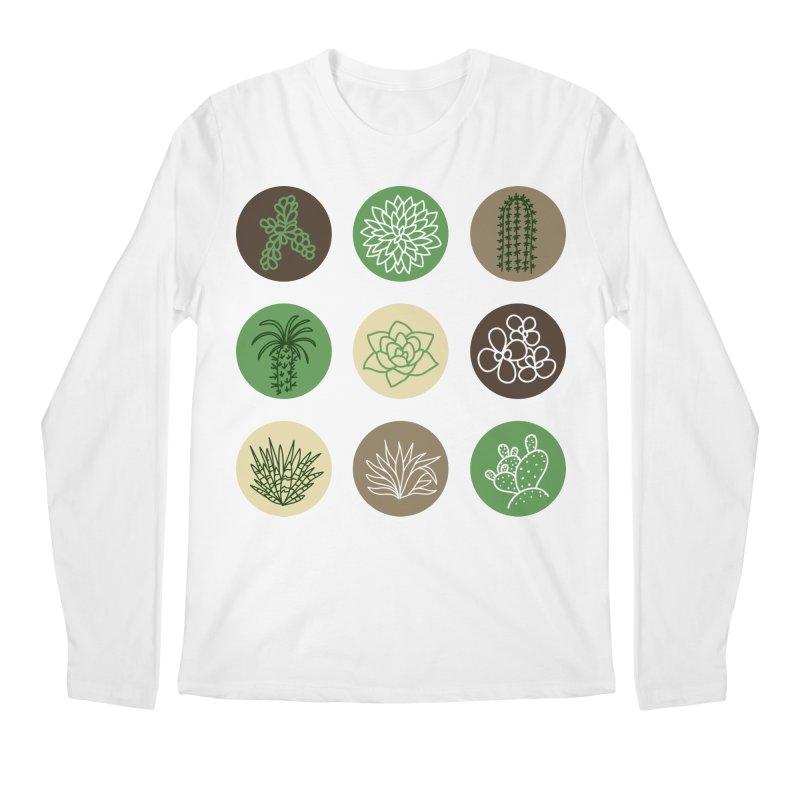 Succulents 1 Men's Longsleeve T-Shirt by Tejedor shop