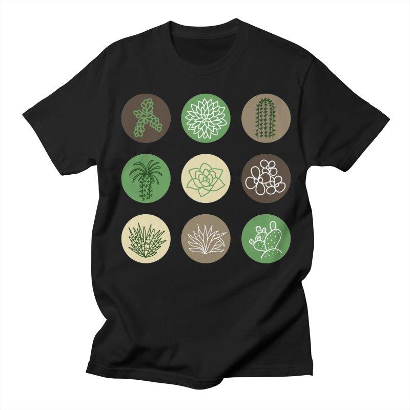 Succulents 1 Men's T-Shirt by Tejedor shop