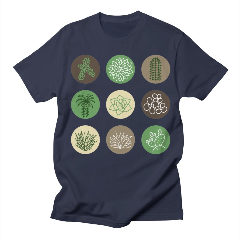 Succulents 1 Men's T-Shirt by Tejedor shop