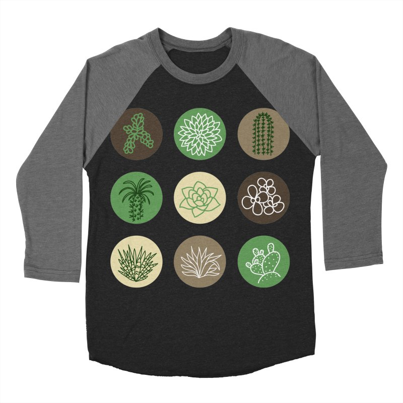 Succulents 1 Women's Baseball Triblend T-Shirt by Tejedor shop