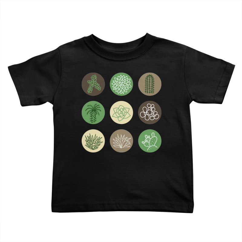 Succulents 1 Kids Toddler T-Shirt by Tejedor shop