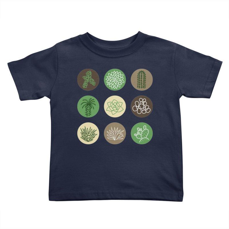 Succulents 1 Kids Toddler T-Shirt by Tejedor shop