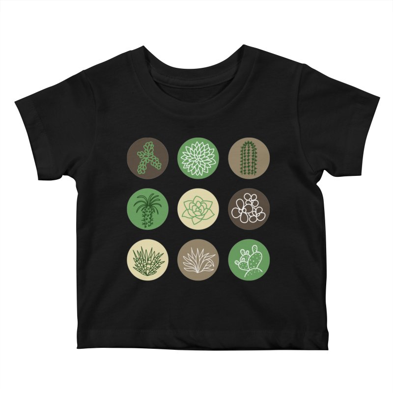 Succulents 1 Kids Baby T-Shirt by Tejedor shop