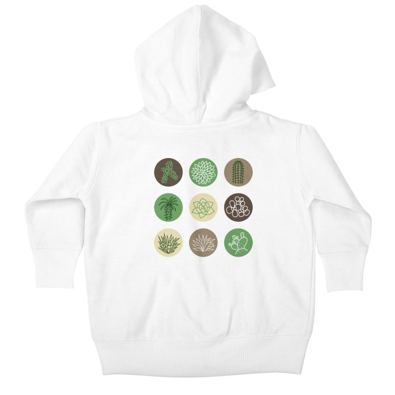 Succulents 1 Kids Baby Zip-Up Hoody by Tejedor shop