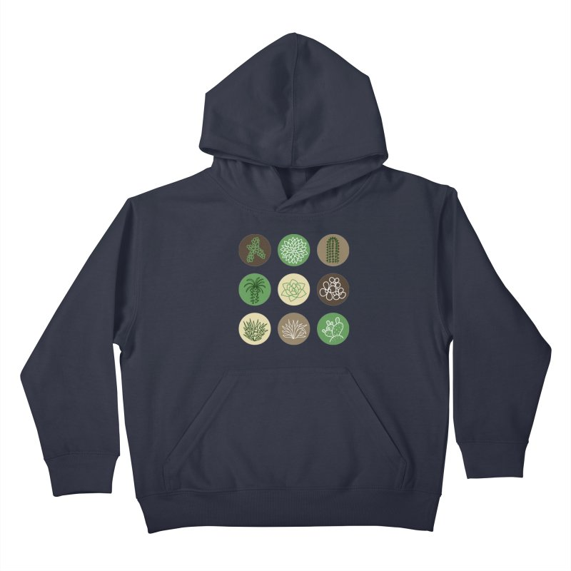 Succulents 1 Kids Pullover Hoody by Tejedor shop
