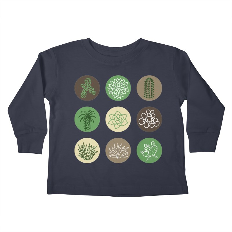 Succulents 1 Kids Toddler Longsleeve T-Shirt by Tejedor shop