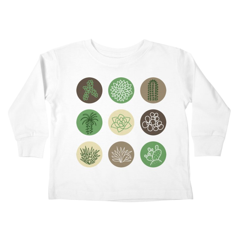 Succulents 1 Kids Toddler Longsleeve T-Shirt by Tejedor shop