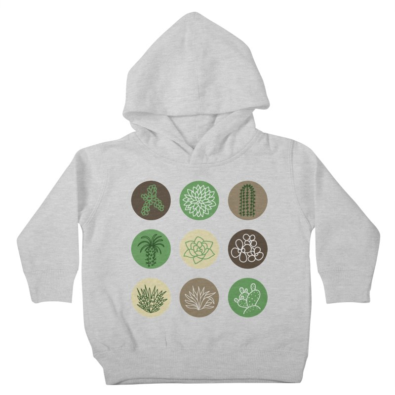 Succulents 1 Kids Toddler Pullover Hoody by Tejedor shop
