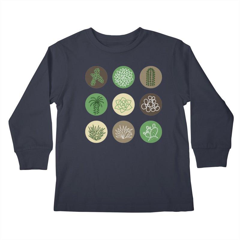 Succulents 1 Kids Longsleeve T-Shirt by Tejedor shop