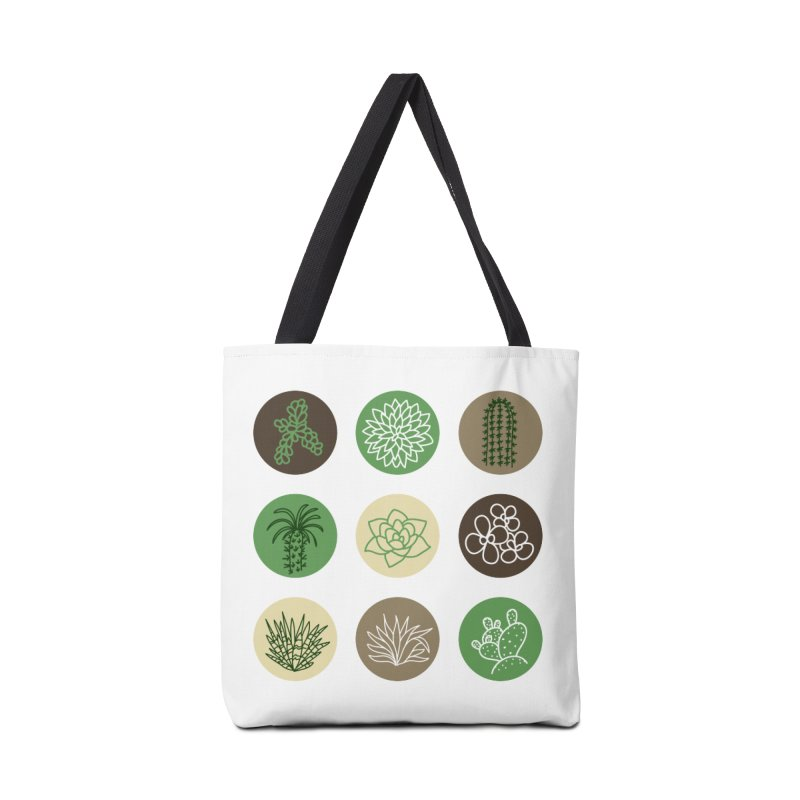 Succulents 1 Accessories Bag by Tejedor shop