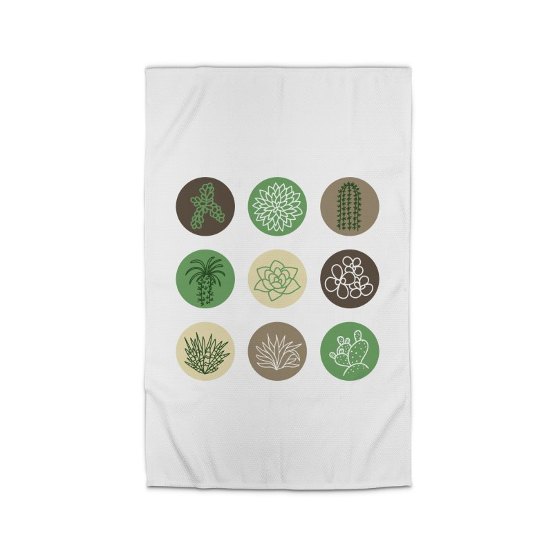 Succulents 1 Home Rug by Tejedor shop