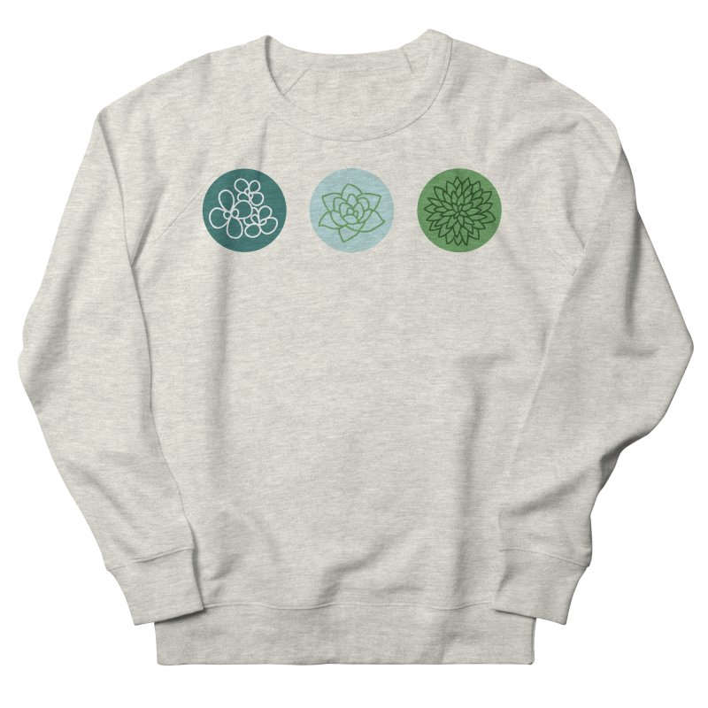 Succulents 2 Women's Sweatshirt by Tejedor shop