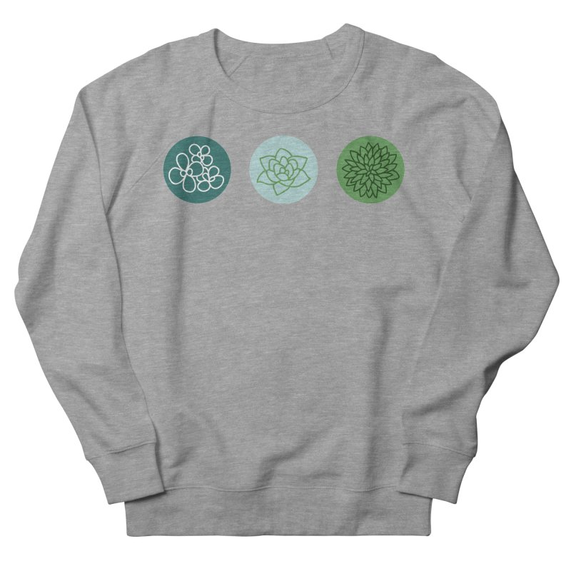 Succulents 2 Men's Sweatshirt by Tejedor shop