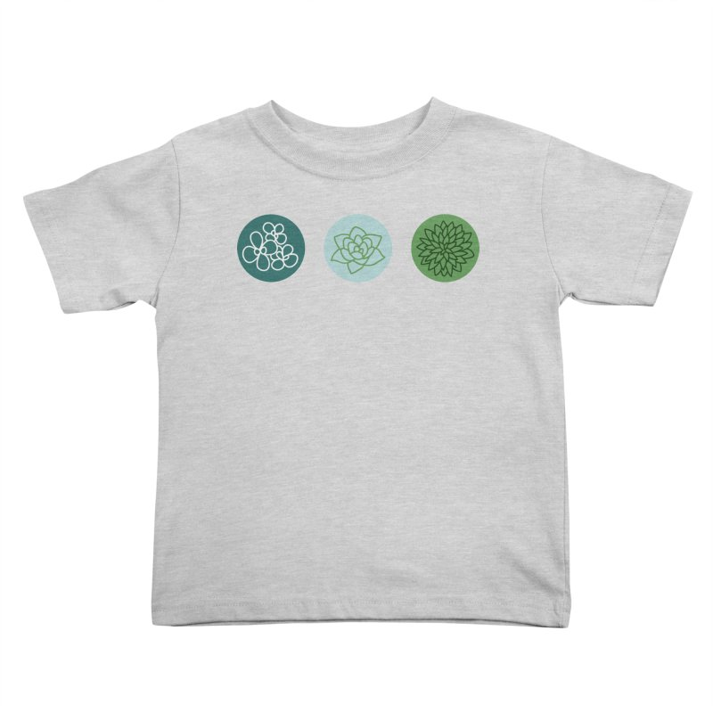 Succulents 2 Kids Toddler T-Shirt by Tejedor shop