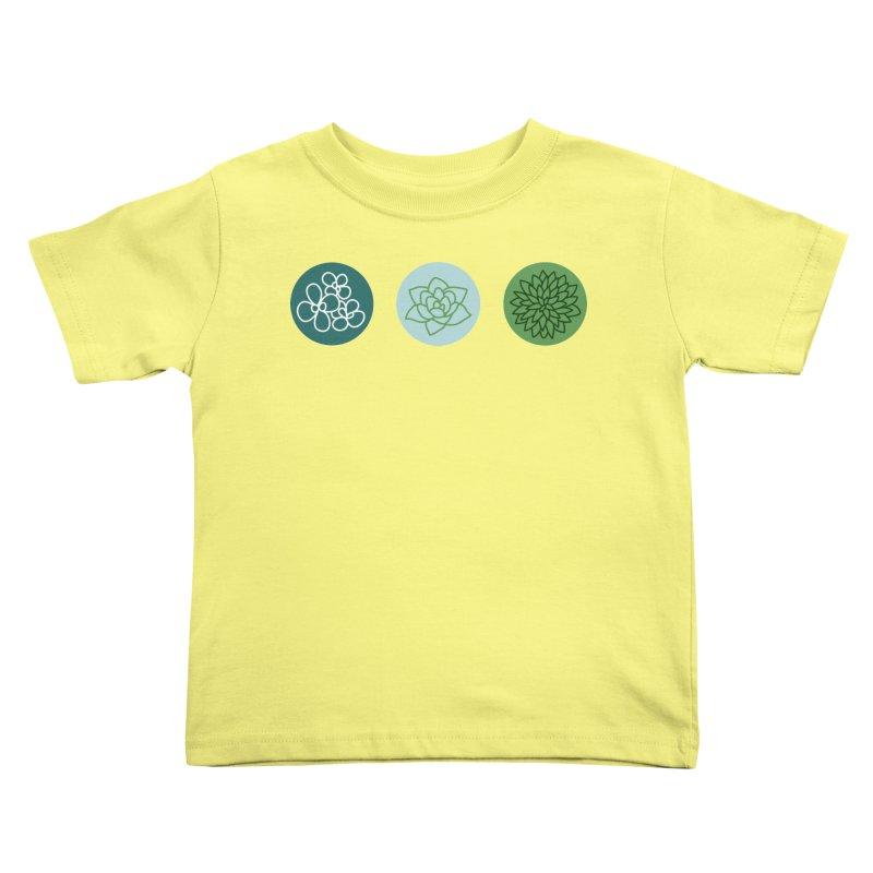 Succulents 2 Kids Toddler T-Shirt by Tejedor shop