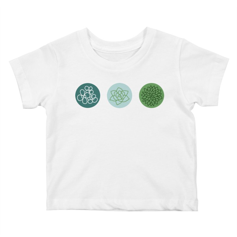 Succulents 2 Kids Baby T-Shirt by Tejedor shop