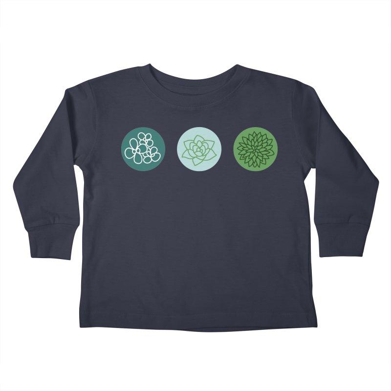 Succulents 2 Kids Toddler Longsleeve T-Shirt by Tejedor shop