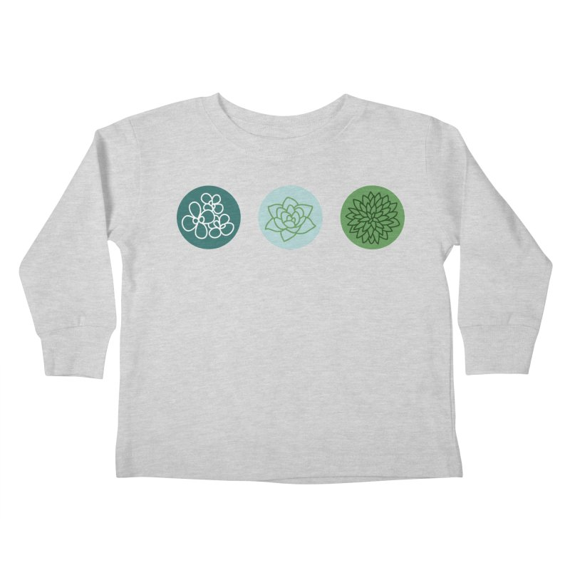 Succulents 2 Kids Toddler Longsleeve T-Shirt by Tejedor shop
