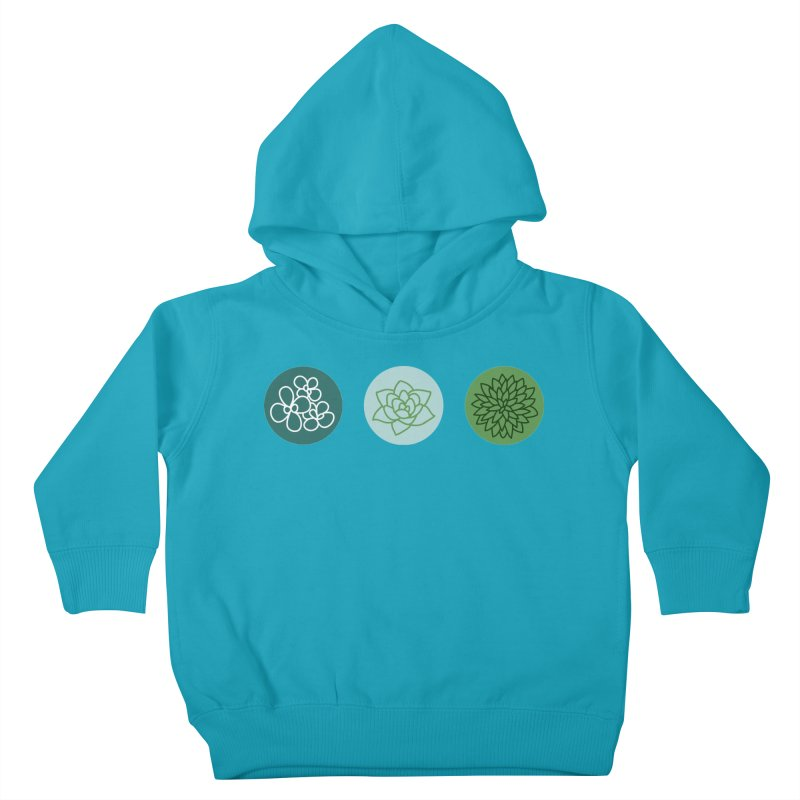 Succulents 2 Kids Toddler Pullover Hoody by Tejedor shop