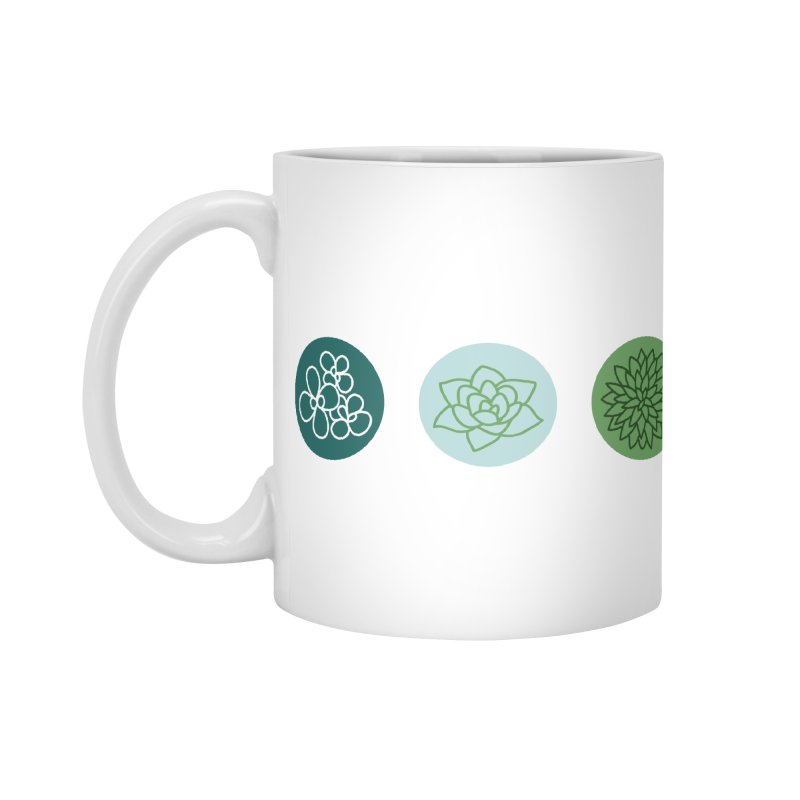 Succulents 2 Accessories Mug by Tejedor shop