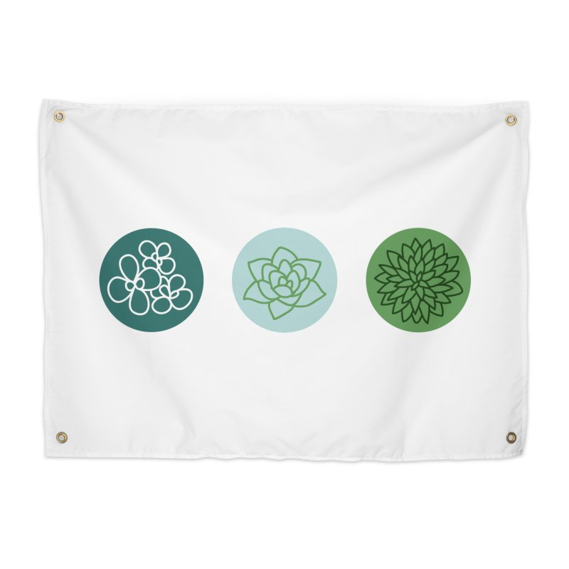 Succulents 2 Home Tapestry by Tejedor shop