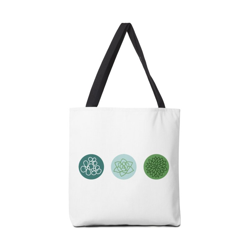 Succulents 2 Accessories Bag by Tejedor shop