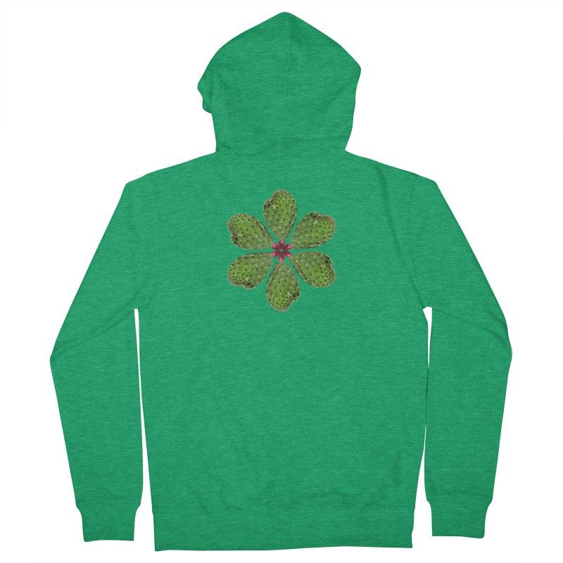 Cactus flower Women's Zip-Up Hoody by Tejedor shop