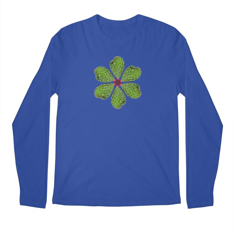 Cactus flower Men's Longsleeve T-Shirt by Tejedor shop