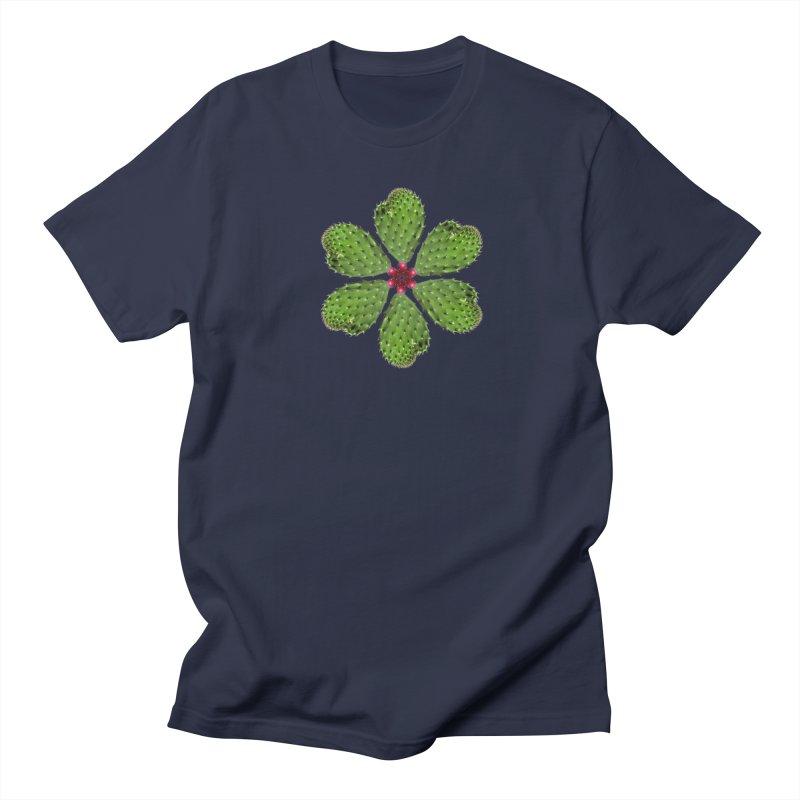 Cactus flower Men's T-Shirt by Tejedor shop