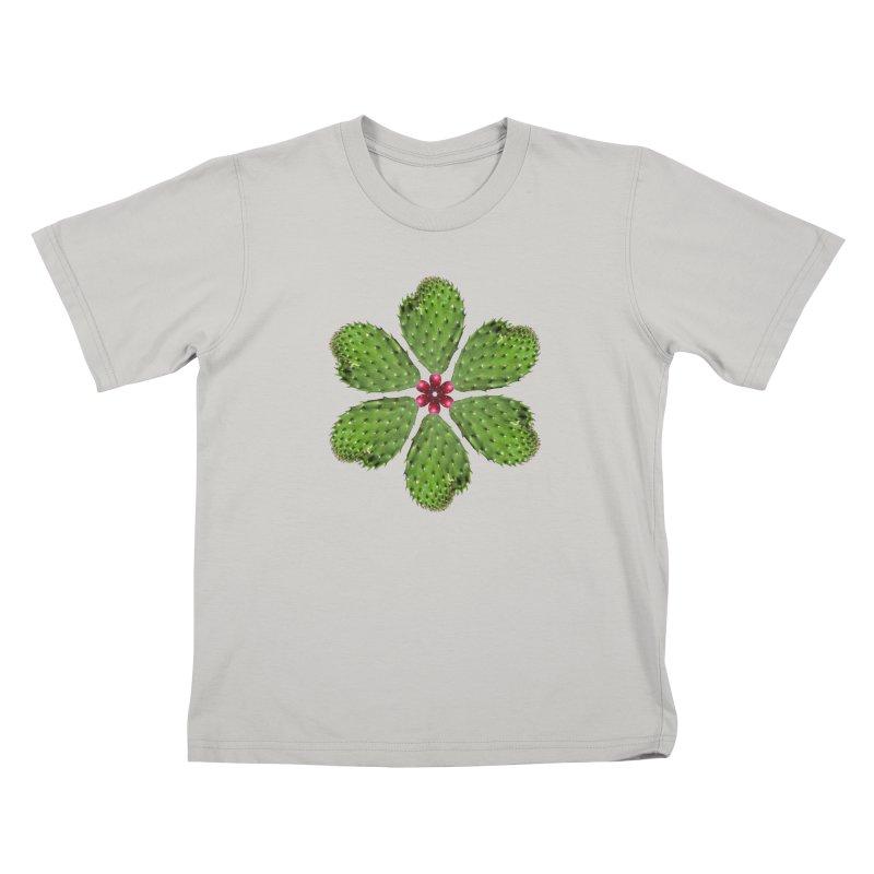Cactus flower Kids T-Shirt by Tejedor shop