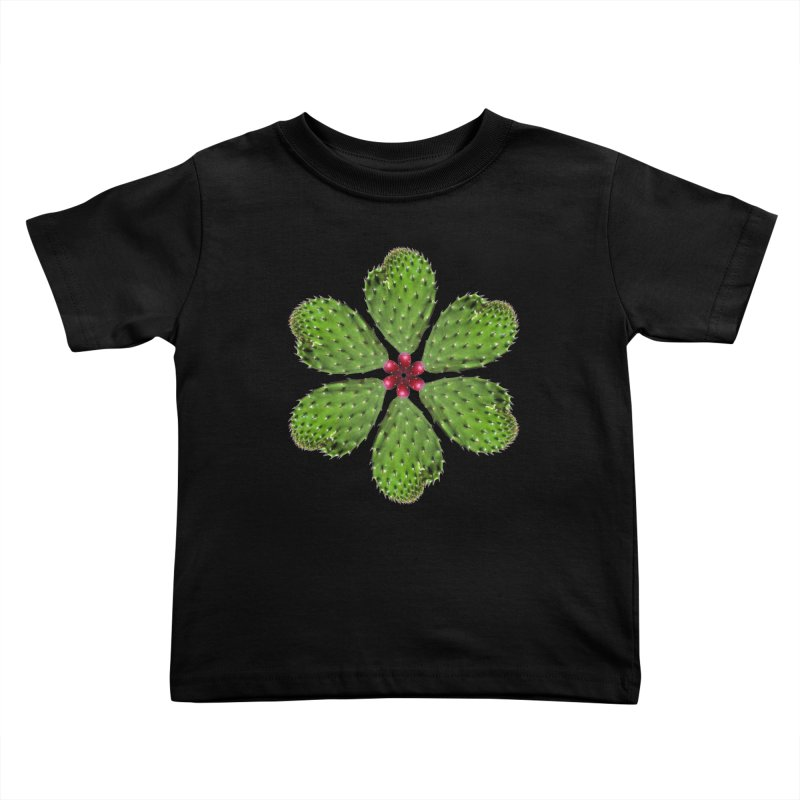 Cactus flower Kids Toddler T-Shirt by Tejedor shop