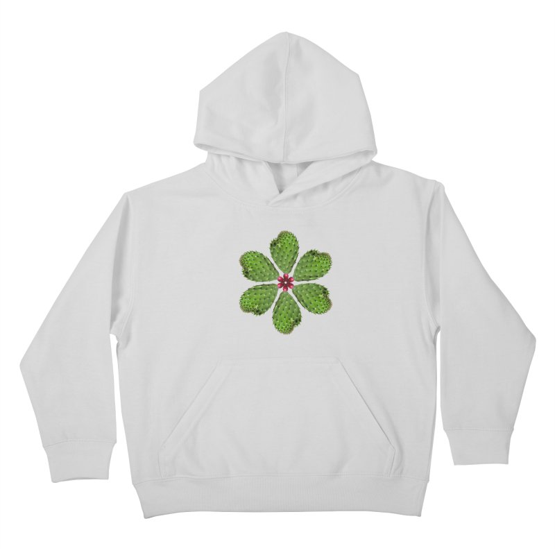 Cactus flower Kids Pullover Hoody by Tejedor shop