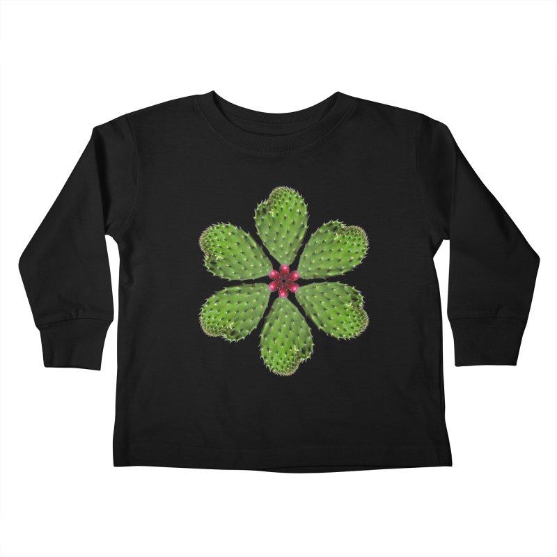 Cactus flower Kids Toddler Longsleeve T-Shirt by Tejedor shop