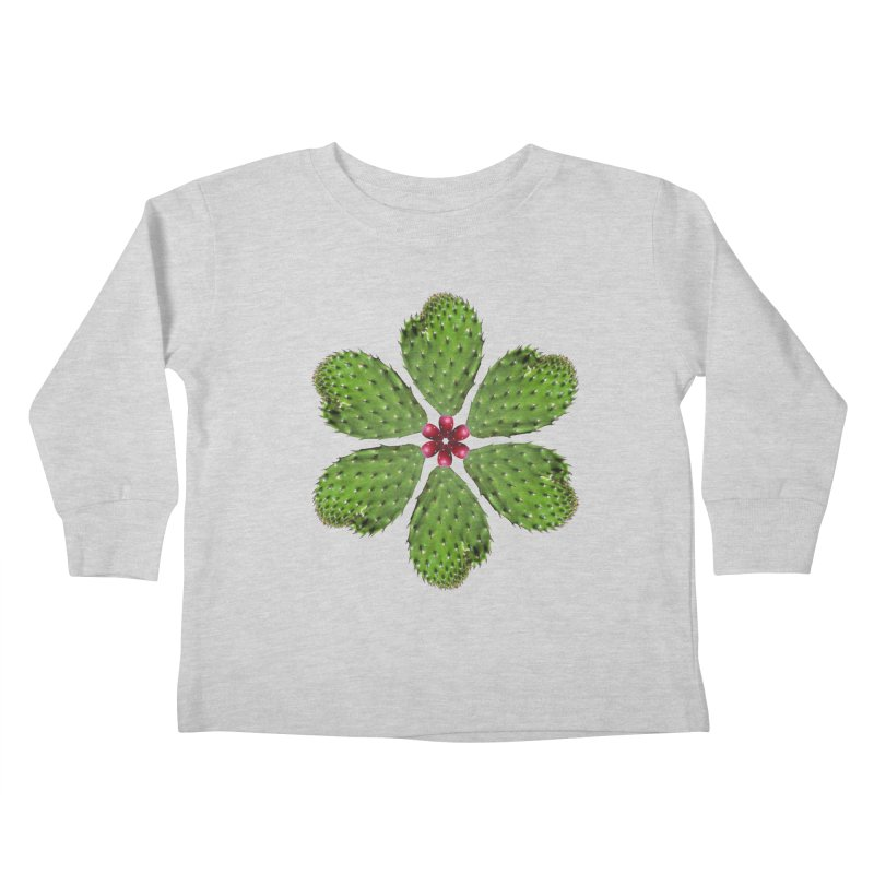 Cactus flower Kids Toddler Longsleeve T-Shirt by Tejedor shop