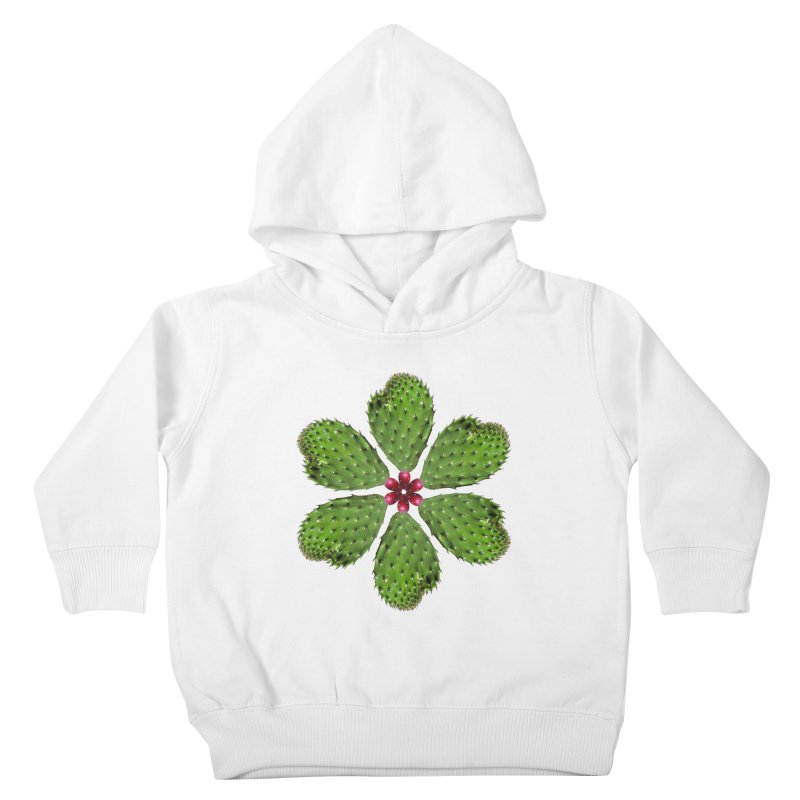 Cactus flower Kids Toddler Pullover Hoody by Tejedor shop