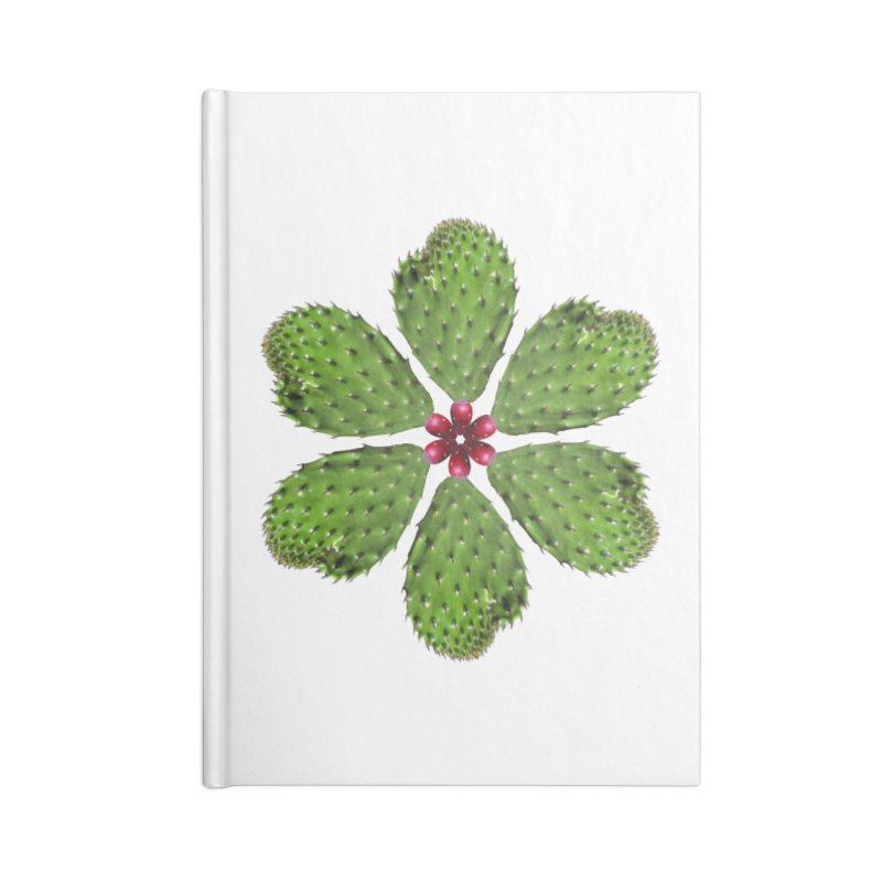 Cactus flower Accessories Notebook by Tejedor shop