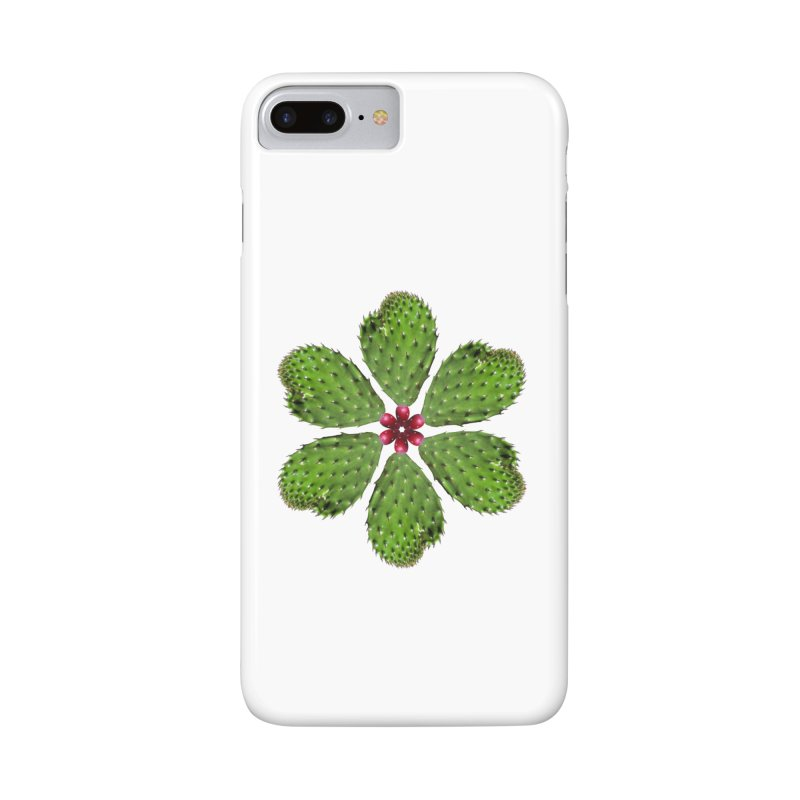 Cactus flower Accessories Phone Case by Tejedor shop
