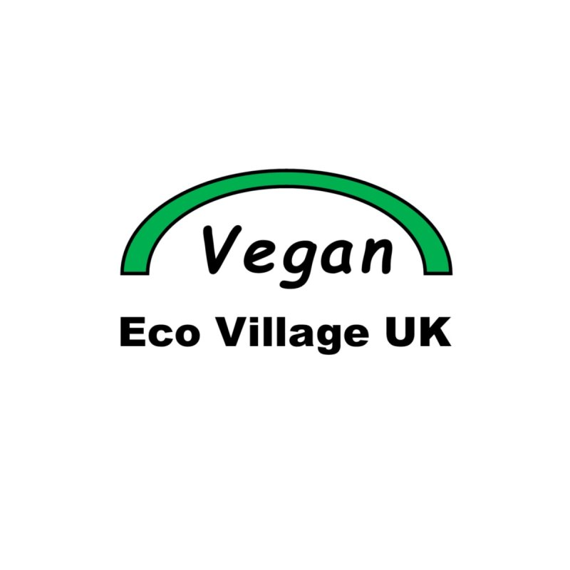 Vegan Eco Village UK by Telepathic Tim Artist Shop