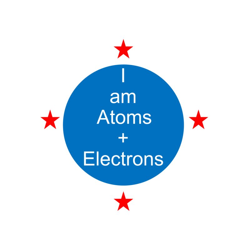 I am Atoms and Electrons by Telepathic Tim Artist Shop