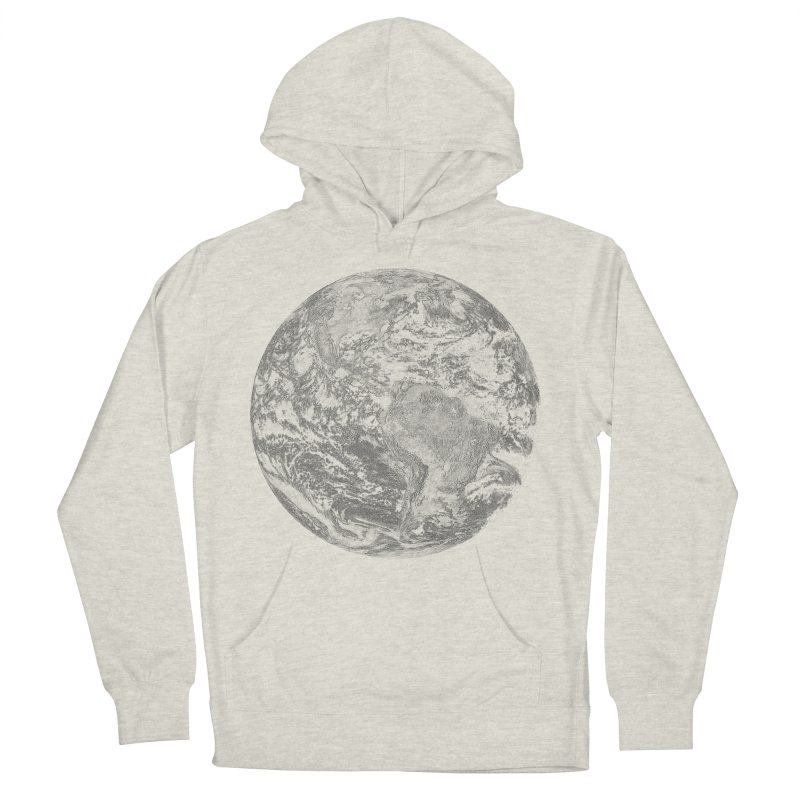 Earth Women's Pullover Hoody by Tello Daytona's Artist Shop
