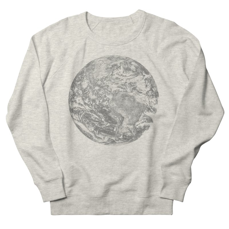 Earth Men's Sweatshirt by Tello Daytona's Artist Shop