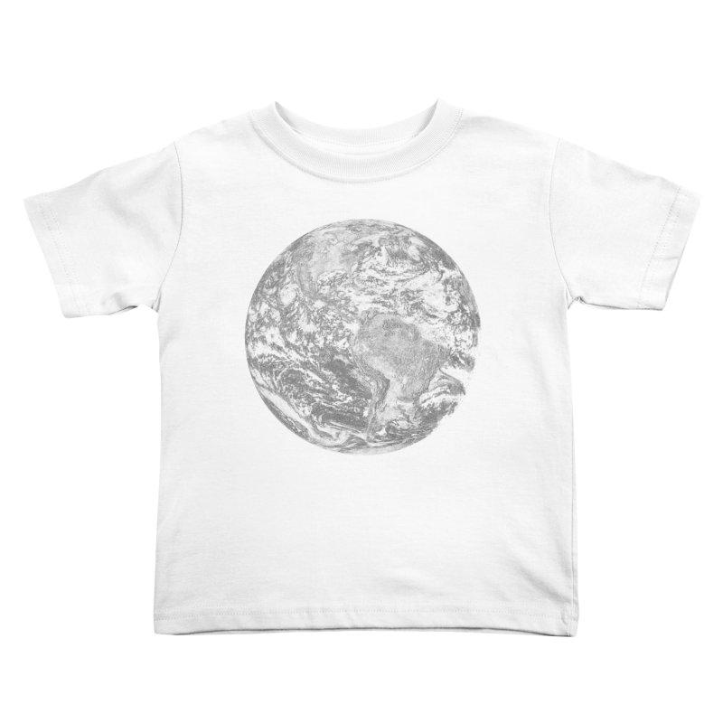 Earth Kids Toddler T-Shirt by Tello Daytona's Artist Shop