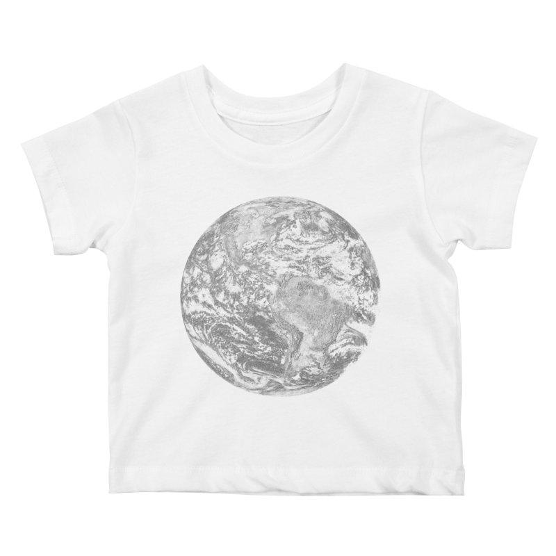Earth Kids Baby T-Shirt by Tello Daytona's Artist Shop