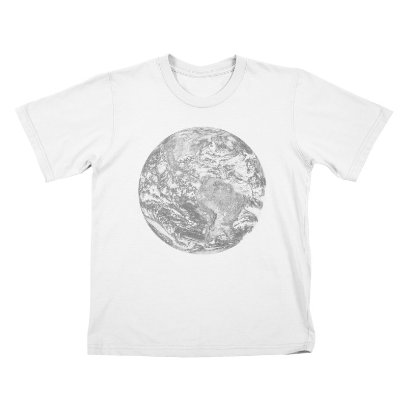 Earth Kids T-shirt by Tello Daytona's Artist Shop