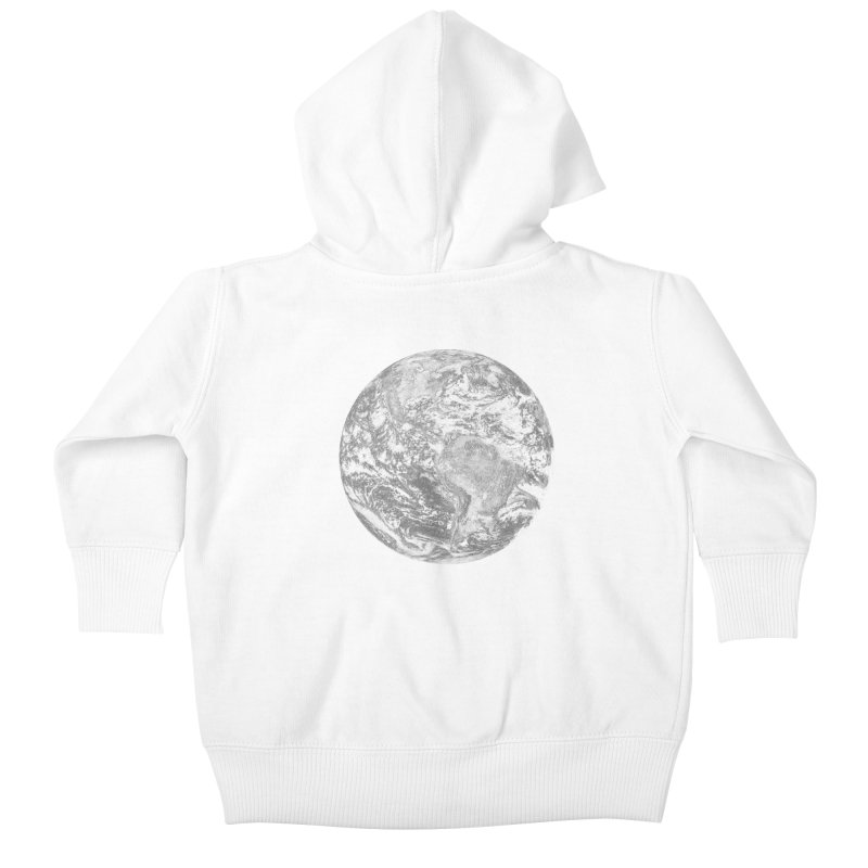 Earth Kids Baby Zip-Up Hoody by Tello Daytona's Artist Shop