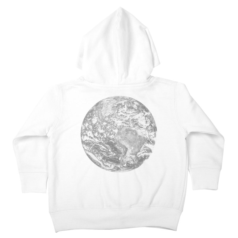 Earth Kids Toddler Zip-Up Hoody by Tello Daytona's Artist Shop